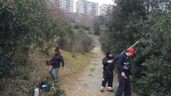 Ilva da meccanici a giardinieri for Giardinieri genova
