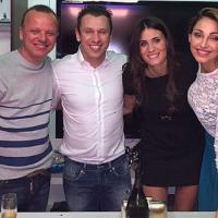 Cassano 'disoccupato' alla festa di Gigi D'Alessio