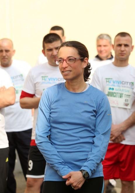 Marassi, i detenuti-podisti intorno al carcere