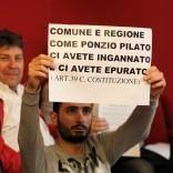 """Amt, gli autisti a Tursi:  """"metodi fascisti  e Doria come Schettino"""""""