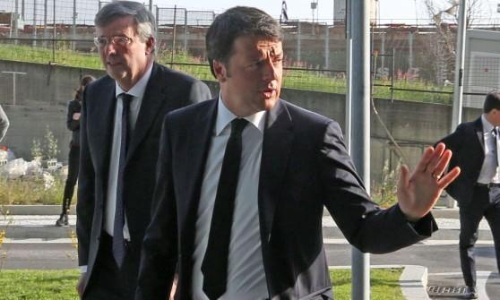 """Renzi a Genova, """"Finite le chiacchiere, tempo di ripartire ..."""