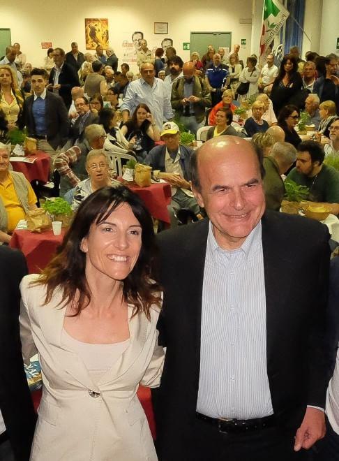 """Bersani a Pontedecimo: """"per essere ascoltati bisogna esserci, per Lella il voto di tutti"""""""