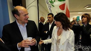 """Bersani, """"per essere ascoltati bisogna esserci, per Lella il voto di tutti""""     Ft         Vd"""