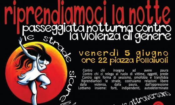 Genova,  passeggiata notturna contro la violenza di genere