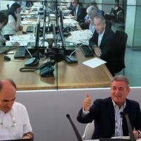 La riunione di redazione in diretta dal Ducale