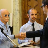 Gino Paoli invitato dall'università parla di tasse
