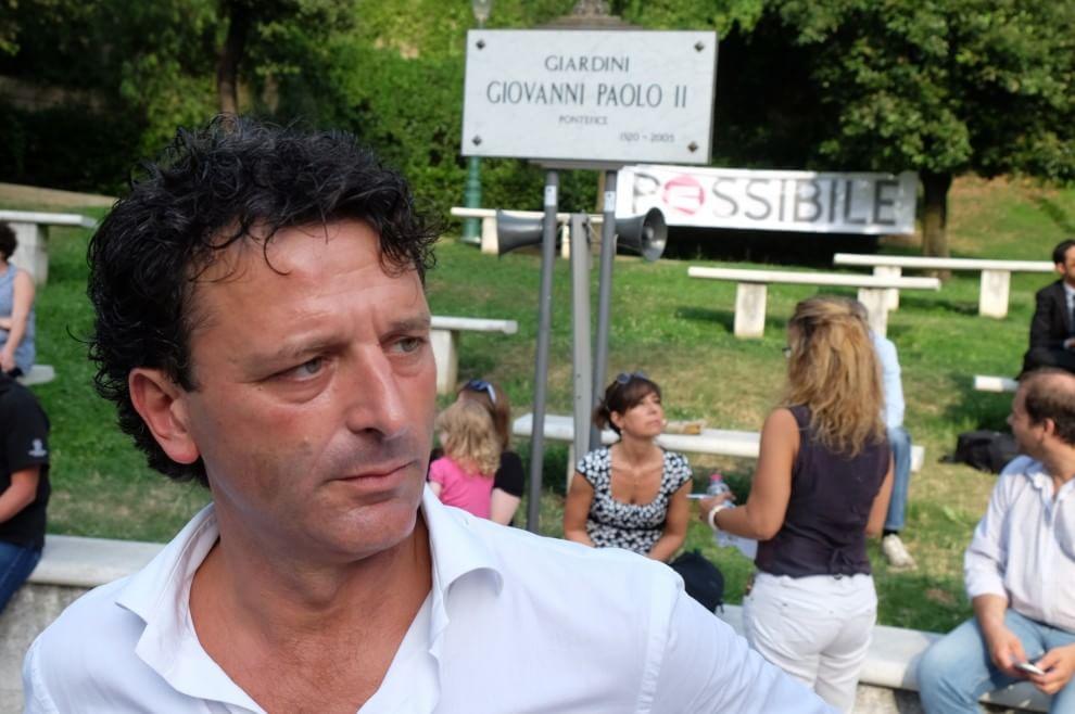 "Pastorino lancia ""Possibile"" nel giardino a Genova"