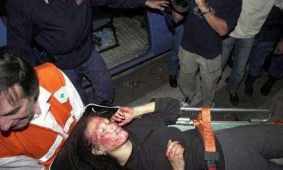 Lena, massacrata la notte della Diaz, aspetta ancora il risarcimento