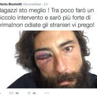 Brumotti, il tweet: