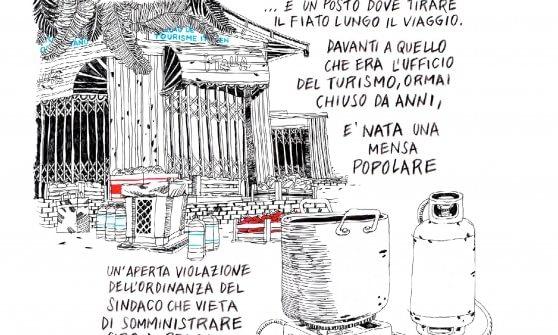 """""""La bolla"""", i migranti dei Balzi Rossi diventano una graphic novel"""
