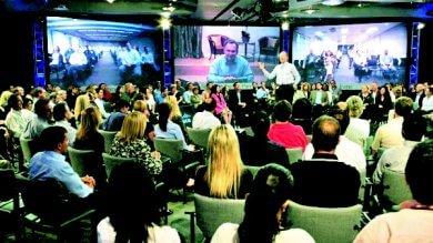La svolta dell'ateneo, uno studio televisivo per le lezioni sul web: si parte dalla sanità