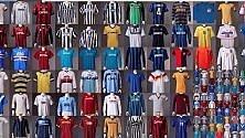 Da Baggio a Cruijff,  le maglie dei campioni  in mostra