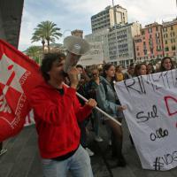 Studenti in piazza contro la #buonascuola