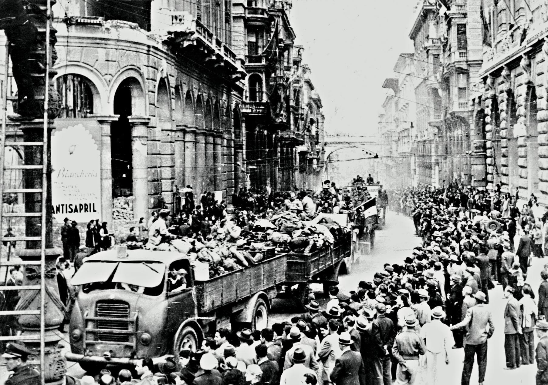In via Caffaro l'arsenale rubato alle SS, un segreto durato oltre settant'anni