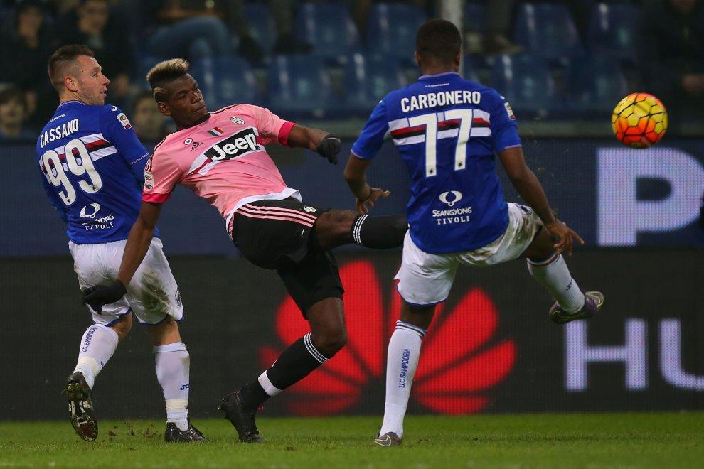 Sampdoria-Juventus, tutte le emozioni