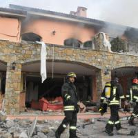 Sanremo, esplode villa che ospita