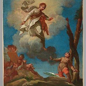 Il primo tricolore in un quadro (dipinto da un prete) scoperto in Liguria
