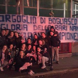 Bogliasco, che gran festa per le campionesse della Rari Nantes