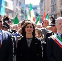 Boldrini al 25 Aprile a Genova: