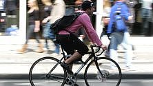 """Ciclisti a Genova,  """"chiamata alle bici"""" per la sfida europea"""