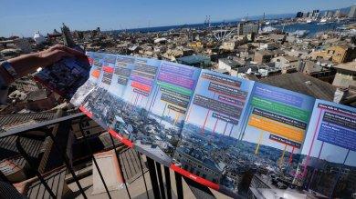 Genova, la veduta a 360° sui vicoli  diffusa in diecimila copie    Video