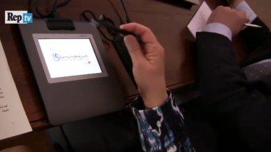 Genova, la rivoluzione digitale dei notai: stipulato il primo atto online  Video