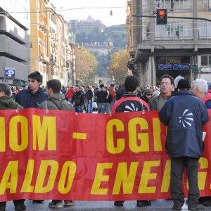 Ansaldo Energia, a Genova un'ora di sciopero a oltranza