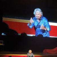Beppe Grillo a Sanremo: