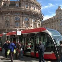 Bus innovativi in prova sulle strade di Genova