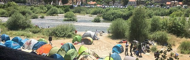Ventimiglia: il sindaco ha firmato l'ordinanza  di sgombero dei migranti