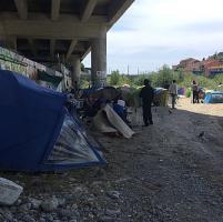Ventimiglia: botte dalla polizia francese e umanità della
