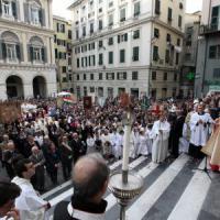 Genova, i lavoratori Iplom alla processione del Corpus Domini