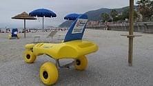 Inaugurata a Chiavari  la spiaggia per tutti