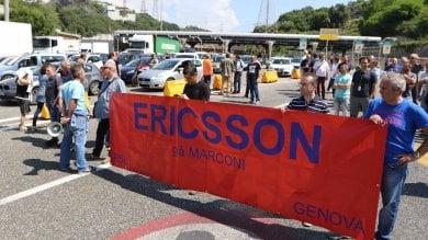 Ericsson, nuovo sciopero  martedì a Genova