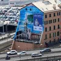 Inaugurato a Genova il Luzzati Wall dedicato alla città