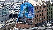 Inaugurato a Genova il Luzzati Wall dedicato alla città  Foto         -      VIDEO
