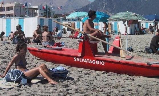 Poca sicurezza in spiaggia: multe della Capitaneria