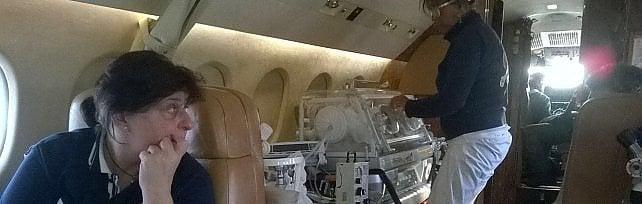 Medici del Gaslini a Shanghai, un volo  di 26 ore per salvare un neonato    Foto