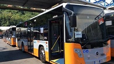 Genova, arrivati quattro nuovi bus all'Amt