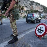 Ventimiglia, annullata la manifestazione, dieci arresti e 57 fogli di via, il capo della polizia arriva in Liguria