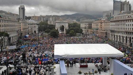 Cento vescovi a genova a settembre per la messa serve il for Quattro ristoranti genova
