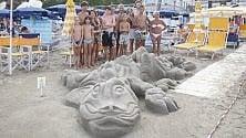 Alassio, la sfida dei castelli di sabbia