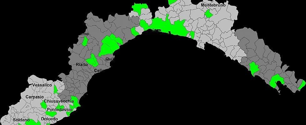 Liguria, la mappa dei comuni per le unioni civili
