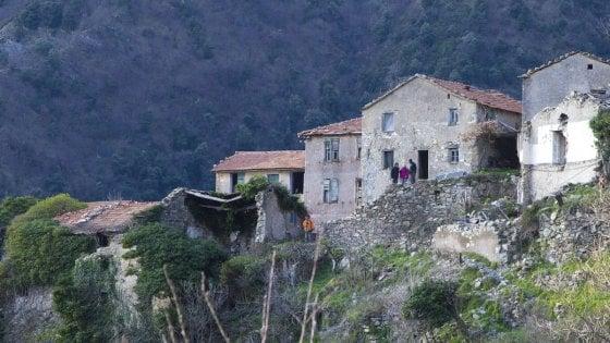 Belli e abbandonati Borghi liguri fantasma studiati dall'Università