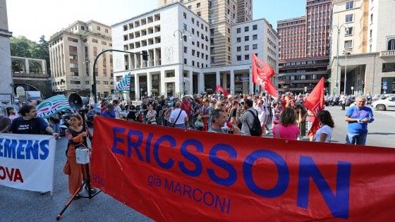 Tagli Ericsson, il sindaco Doria e i parlamentari liguri chiedono aiuto al governo