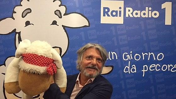 Samp, Ferrero show a Radio1