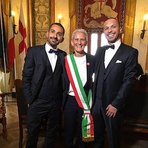 Unione civile a Genova per il vicepresidente delle Famiglie Arcobaleno