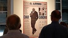 Al Ducale la mostra su Sandro Pertini direttore  del giornale 'Il Lavoro'       Il video
