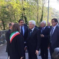 """Mattarella a Savona per celebrare i 120 anni di Pertini: """"Politica credibile se individua..."""