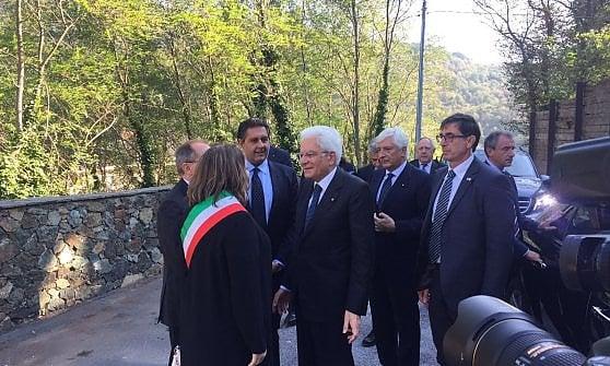 Mattarella a Savona per celebrare i 120 anni di Pertini